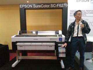 Epson Buat Tinta Khusus untuk Printer SureColor F-Series
