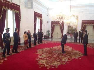 8 Duta Besar Serahkan Surat Kepercayaan Kepada Presiden Jokowi