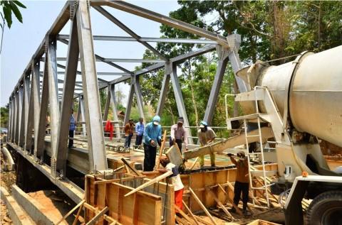 Jembatan Ibun-Kamojang Segera Tersambung