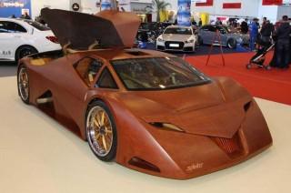 Splinter, Supercar yang Terbuat dari Kayu