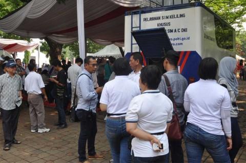 83 Ribu Orang Manfaatkan Layanan SIM Online di Hari Peluncuran