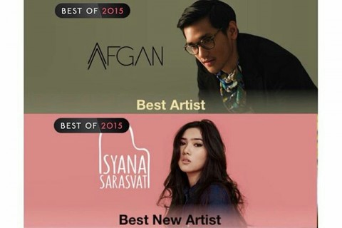 Isyana Sarasvati, Best New Artist Itunes Indonesia 2015