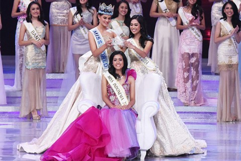 Miss Indonesia Juara III Miss World 2015