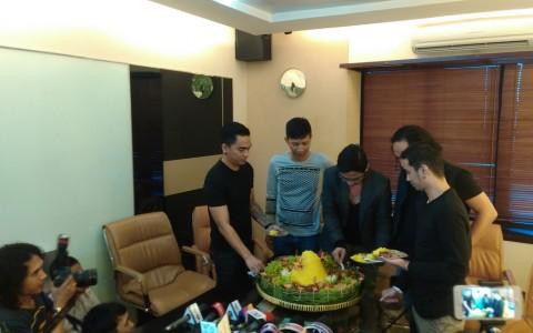 Band Ungu Gelar Syukuran Rayakan Kemenangan Pasha