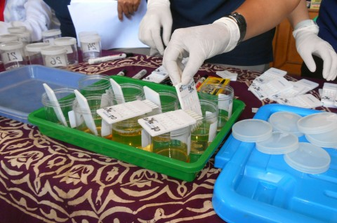 Jelang Libur Panjang, Polresta Bekasi Tes Urin Sopir Bus
