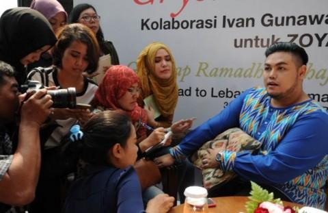 Sukses 2015 Diharapkan Ivan Gunawan Bersambung hingga Tahun Depan