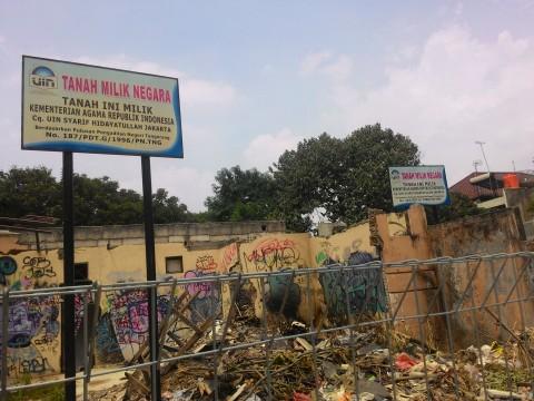 Ini Alasan UIN Jakarta Belum Eksekusi Lahan di Pisangan