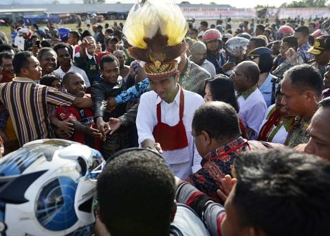 Polri Koordinasi dengan TNI Perketat Keamanan Jokowi di Papua