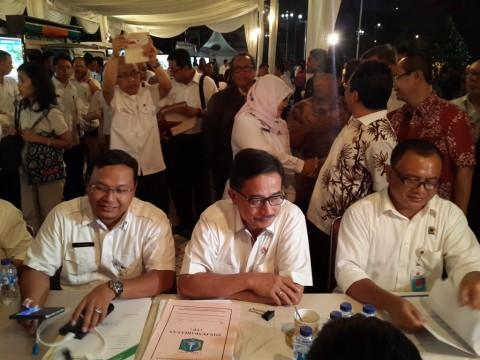 Pelayanan <i>Night Service</i>, BPN Jakpus Urus Sertifikat Tanah Pemda Aceh