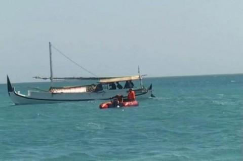 Dua Perahu Nelayan Terbalik di Perairan Cilacap