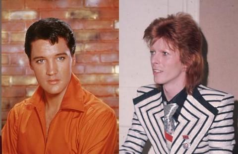 Sebelum Meninggal, Elvis Presley Ingin Kolaborasi dengan David Bowie