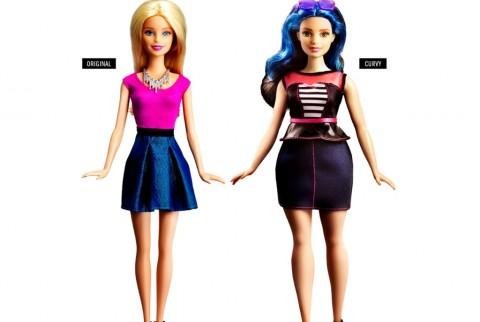 Bentuk Tubuh Boneka Barbie Kini Lebih Sintal