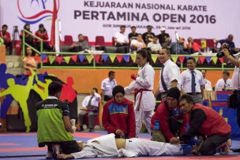 Pertamina Pusat A Sabet Trofi Juara Kejurnas Karate