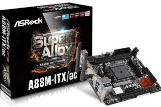 ASRock Kenalkan Motherboard Mini-ITX AMD A88M-ITXac