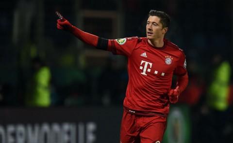 Gol ke-29 Lewandowski Bawa Bayern Lolos ke Semifinal