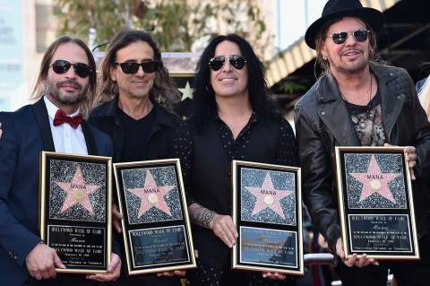 Band Mana Terima Anugerah Bintang Hollywood Walk of Fame
