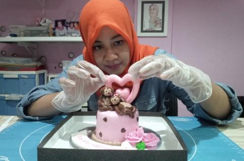 Rayakan Valentine dengan Cupcake Animasi