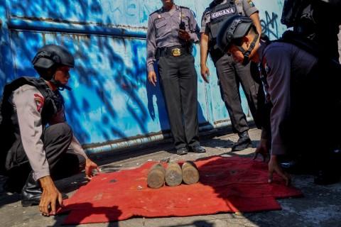 Peluru Mortir Ditemukan di Taman Abdi Negara