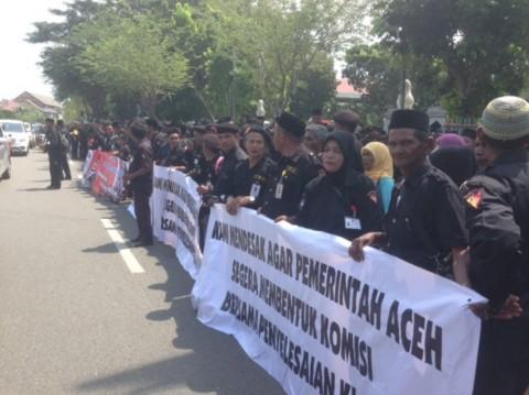 Ribuan Korban Konflik Aceh Menggugat Presiden RI