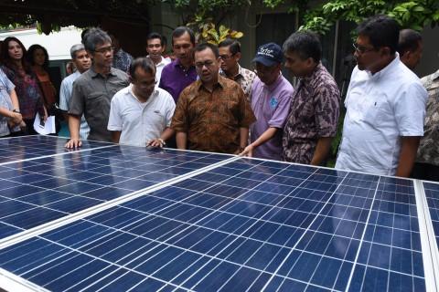 Tingkatkan Perekonomian Desa, Pemerintah Bangun Desa Mandiri Energi