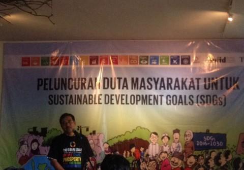 Kehadiran Duta Masyarakat Cegah Keterlambatan Implementasi SDGs