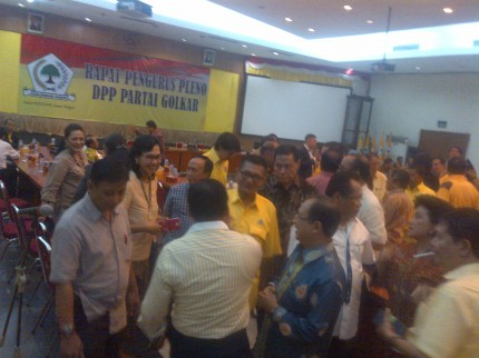 Ical Sakit, Rapat Penentuan Munas Golkar Ditunda