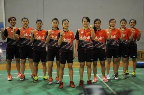 Tim Piala Uber Indonesia Lolos ke Putaran Final