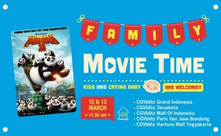Serunya Nonton Kung Fu Panda 3 di Family Movie Time CGV Blitz