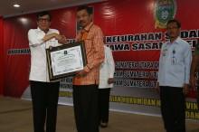 Puluhan Desa di Sumut Raih Penghargaan 'Desa Sadar Hukum'