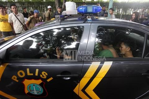 Palak Pengunjung CFD, Enam Pemuda Ditangkap Polisi