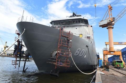 Proses Penyempurnaan Kapal Perang Pesanan Filipina