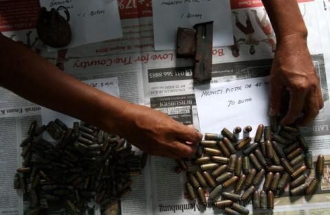 67 Peluru Ditemukan di Selokan Pesanggrahan