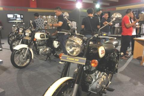 Motor Klasik Royal Enfield Muncul ke Publik