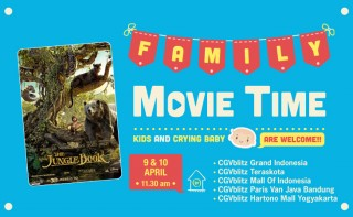 Lebih Nyaman Nonton The Jungle Book di Family Movie Time CGV blitz