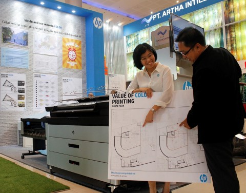 HP Rilis Printer Khusus Arsitek PageWide XL 5000 MFP di Indonesia