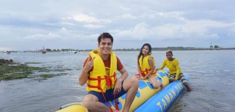 Keseruan Jessica Mila dan Kevin Julio Syuting di Bali
