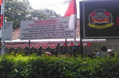 Kericuhan Terjadi di Sekretariat Gibas Bandung