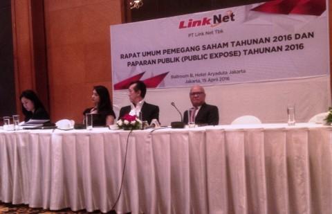 Link Net Bagi Dividen Rp42/Saham