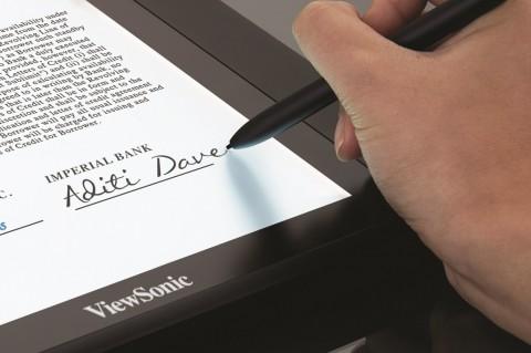 ViewSonic Kenalkan Modul Digitizer Sentuh Baru, Bisa Membuat E-Signature yang Autentik