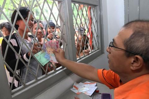 Penyerahan Dana Program Keluarga Harapan di Medan