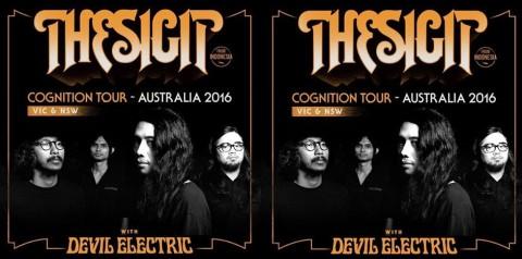 The S.I.G.I.T akan Jalani Tur Australia