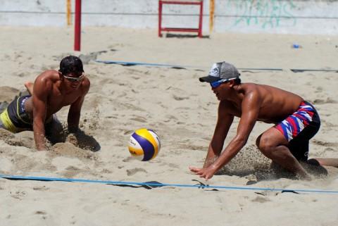 Turnamen Voli Pantai di Palembang Diikuti 13 Negara