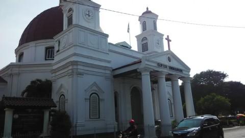 Gereja Blenduk Semarang Mulai Keropos