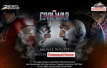 Ayo, Ikutan Nonton Gratis Captain America: Civil War!