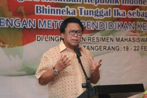 Oesman Sapta: GP Ansor Tulang Punggung Indonesia