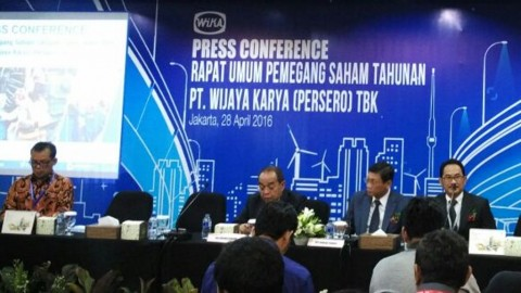 Akhir Maret 2016, Kontrak Baru WIKA Rp6,02 Triliun