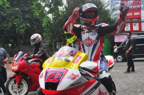 Calon Juara Dunia Moto2 Tes Aspal Jakarta
