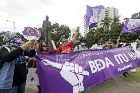 Aksi Damai AJI Usung Tema 'Beda Itu Hak'