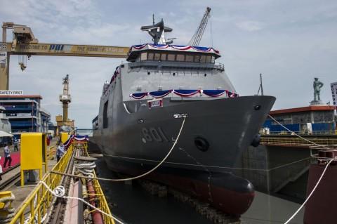 Wapres Dijadwalkan Lepas Ekspor Perdana Kapal Perang ke Filipina
