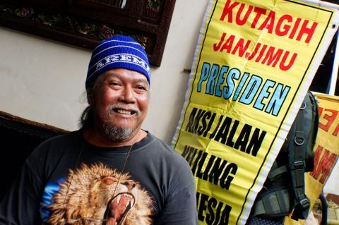 Cari Keadilan, Indra Azwan Tak Kenal Lelah Keliling Indonesia